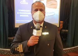 """Costa Crociere, il comandante Modaffari a Il Giornale d'Italia: """"Grande emozione tornare in mare"""""""