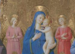 """Beato Angelico, restaurata la """"Pala di Bosco ai Frati"""""""