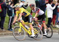 Settima tappa a Mohoric, Van der Poel resta in giallo