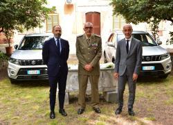 Suzuki in supporto alla Sanita' Militare