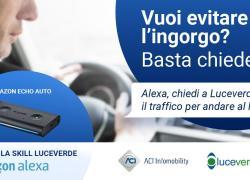 "Aci lancia ""Luceverde"", nuova skill di Alexa info-traffico"