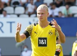 Calciomercato: Stampa, duello Real-Psg nel 2022 per Haaland