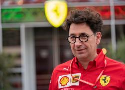 """F.1: Ferrari. Binotto """"Nel 2022 saremo più veloci e più in alto"""""""