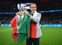 """Euro2020: Mancini """"Sempre creduto in vittoria, giocato da squadra"""""""