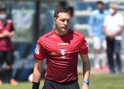 Calcio: Serie B. Designazioni arbitrali, Marcenaro per Como-Frosinone
