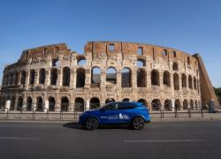 Nissan Qashqai pronto a correre l'Acea Run Rome The Marathon