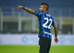 Calcio: Inter. Risentimento muscolare alla coscia destra per Vidal