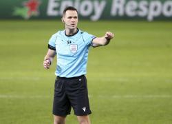 Calcio: Kruzliak arbitro di Napoli-Spartak, Lazio-Lokomotiv a Pawson