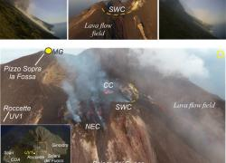 Vulcani, emissioni di CO2 campanello d'allarme delle eruzioni esplosive