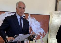 """Malagò """"Spero idee chiare su San Siro. Futuro in politica? Non è vero"""""""