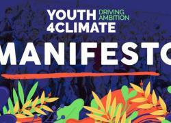 """Il primo """"Youth4Climate Manifesto"""" on line sul sito del MiTe"""
