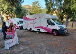 Tumori del seno, la Carovana della Salute torna a Roma