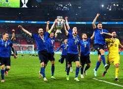 "Wembley si inchina all'Italia, Malagò ""Spinta per estate magica"""