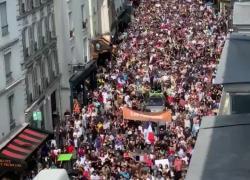 Proteste in Francia contro il Green Pass: in migliaia scendono in piazza. VIDEO