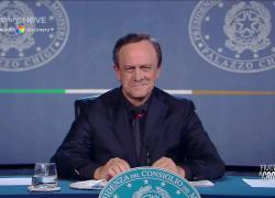 """Fratelli di Crozza, Draghi """"Io Presidente? Me lo chiedete quattro volte al giorno: più che una domanda è un antibiotico"""""""