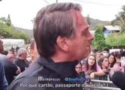 """Bolsonaro contro i vaccini Covid: """"Perché mi serve un certificato? Ho più anticorpi dei vaccinati"""". Il VIDEO"""