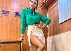 Elisabetta Gregoraci vestito strepitoso: uno spacco vertiginoso da non credere! LE FOTO