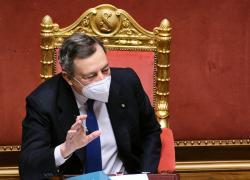 """Draghi in Libia: """"Vado per fare gli interessi del nostro Paese"""""""