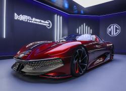 Svelata a Shanghai la  concept car MG Cyberster