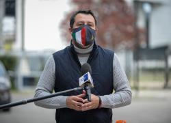 """Riaperture 26 aprile, Salvini: """"Vittoria della Lega? No, del buon senso"""""""