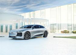 Debutto al Salone dell'auto di Shanghai il concept dell'Audi A6 e-tron