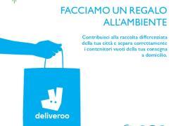 Milano, Deliveroo e Amsa insieme per l'ambiente