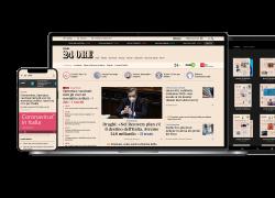 Il Sole 24 Ore cambia la home page:  più podcast, video, infografiche e Dossier tematici