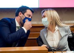 Lega e Fratelli d'Italia imbarazzano Draghi. Ribadito l'appoggio a Orban