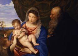 La Madonna delle Rose di Tiziano dagli Uffizi in prestito al castello di Miramare