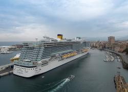 Costa Crociere: parte oggi dal porto di Savona Costa Smeralda