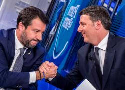 Salvini-Renzi, giustizia a orologeria. E Giorgetti prepara il golpe nella Lega