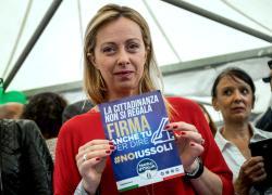 """Meloni propone incontri periodici con Draghi: """"Volete sapere cosa ha risposto?"""""""