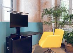 """TIM: Olivetti e Tecno presentano """"Sintesi"""", una postazione di lavoro intelligente per casa e ufficio"""