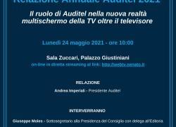 Presentazione della Relazione Annuale Auditel 2021