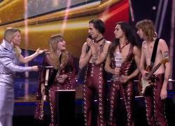 """Eurovision 2021,  IL VIDEO della vittoria dei Maneskin con """"Zitti e Buoni"""""""