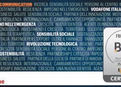 Vodafone Italia è Best in Media Communication per il secondo anno consecutivo