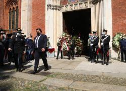 """Carla Fracci, il funerale alla chiesa San Marco a Milano. Sala: """"Non la dimenticheremo"""""""