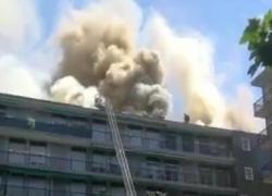 Incendio in via Washington a Milano, nube oscura il cielo: cosa sta succedendo. IL VIDEO