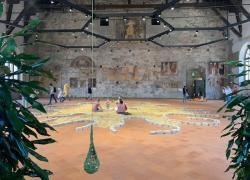 """GaMeC, a Bergamo la mostra  """"Mentre la vita ci respira"""" di Ernesto Neto"""