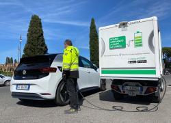 E-GAP, al via accordo con Carpoint per la ricarica elettrica on demand ai clienti diVolkswagen di Roma
