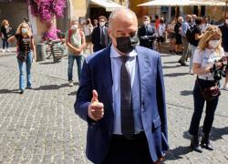 """Elezioni Roma 2021, Michetti: """"Rispetto chi rifiuta il vaccino"""""""