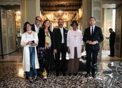 """Mazzei  al Giornale d'Italia: """"Palazzo Durini Caproni di Taliedo luogo ideale per far conoscere Edra"""""""