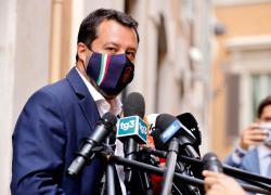 """Cittadinanza a Zaki, Salvini contrario: """"Spot che non risolve il problema"""""""
