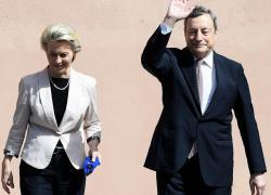 """Recovery plan, arriva ok dalla Ue a Pnrr. Draghi festeggia: """"Orgoglio per Italia"""""""
