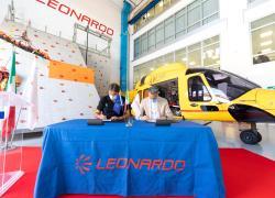 Leonardo e Soccorso Alpino: rinnovato l'accordo per lo sviluppo congiunto di nuove capacità