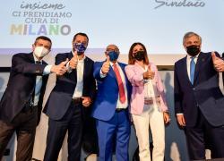 """Elezioni Milano, Berlusconi lancia il candidato Sindaco Bernardo: """"Combatto con voi"""""""