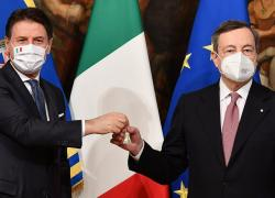Governo, Draghi incontra Conte lunedì: verso la linea dura sulla giustizia