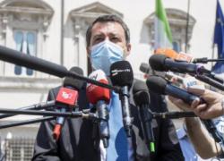 """Covid e restrizioni, Salvini contro Draghi: """"Sono rammaricato, la libertà è sacra"""""""