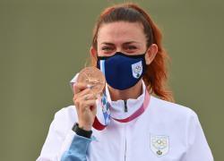 Olimpiadi 2021, prima medaglia per San Marino: Perilli bronzo nel trap