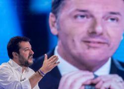 """Reddito di cittadinanza, Salvini dà ragione a Renzi: """"A settembre bisogna rivederlo"""""""